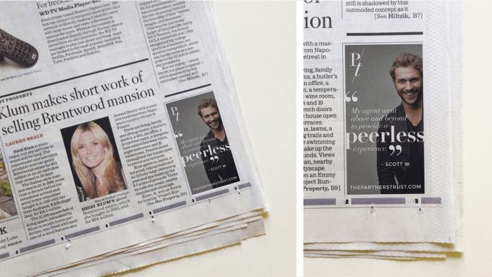 PT print ads
